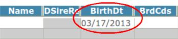 Birthdatewithcircle